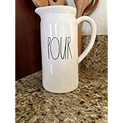 Rae Dunn POUR Pitcher / Jug / Container by Magenta
