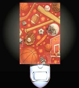 All Sports Decorative Night Light Kitchen