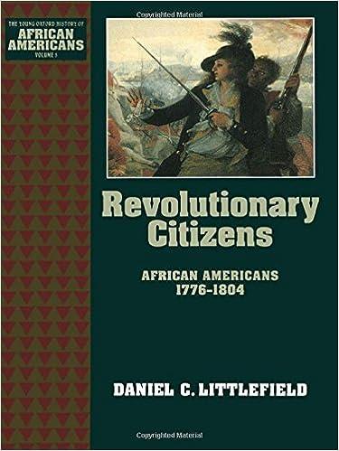 Téléchargez des ebooks complets gratuitement Revolutionary Citizens: African Americans 1776-1804 (The Young Oxford History of African Americans) en français PDF iBook