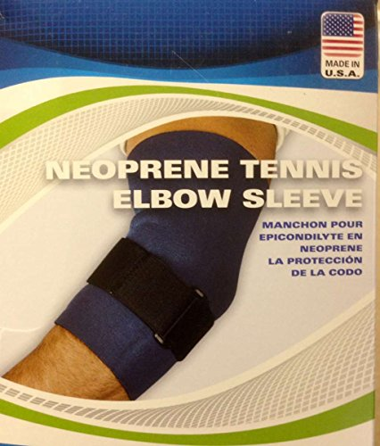 Scott Specialties (v) Tennis Elbow Sleeve Neoprene Small 9 -10 Sportaid (Tennis Sleeve Elbow Sportaid)