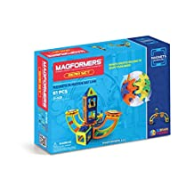 Magformers Magnets in Motion Opaque Gear Set (61 Piece)