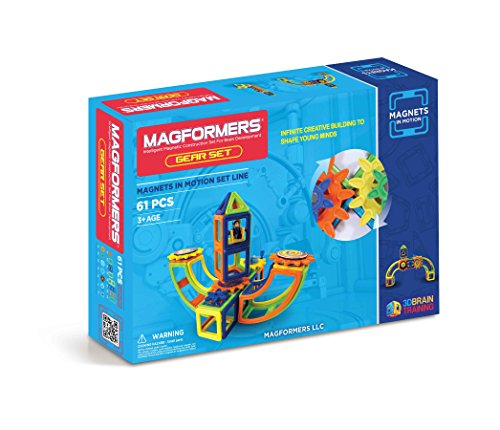 Magformers 61 pieces Magnetic Educational Construction