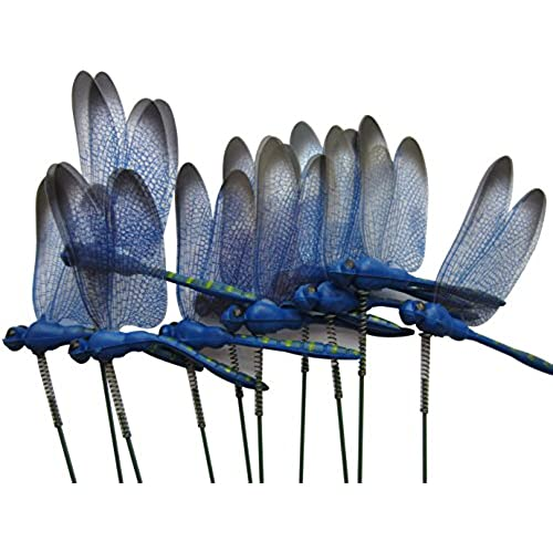 LeBeila Dragonfly Outdoor Decor For Yard Planter Decorations Gardening  Stakes 3d Dragonfly Art Craft Garden Ornament And Patio Yard Party Pot  Flower Decals ...