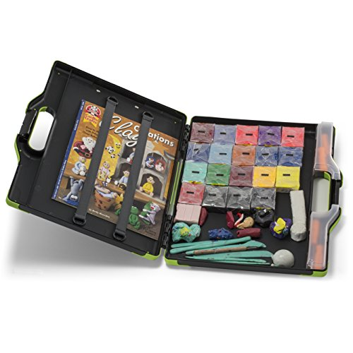 Officemate OIC Carry-All Clipboard Storage Box, Letter/Legal Size, Black & green (83325) Photo #5