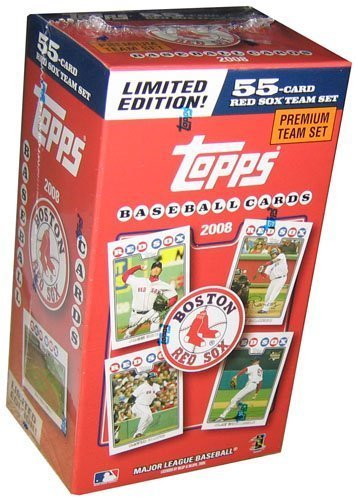Topps 2008 Red Sox Team Set