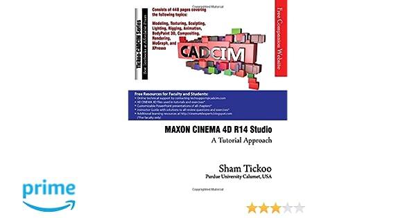 e-book MAXON CINEMA 4D R14 Studio: A Tutorial Approach