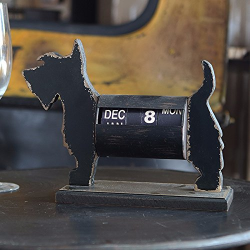 Personalized home decor and calendar ornaments creative American retro wood craftwork, Dog