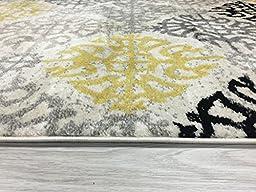 Rugshop Contemporary Geometric Design Indoor Area Rug, 5\'3\