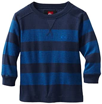 Quiksilver Baby-boys Infant Snit Stripe Sweater, Blue, 6-9 Months