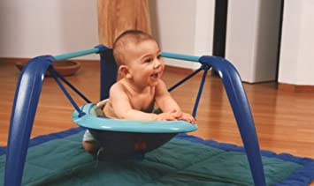 d2303256c867 Amazon.com   Wingbo - Tummy Time Swing   Stationary Baby Swings   Baby