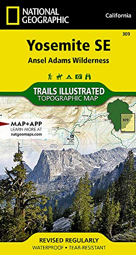 (Yosemite SE: Ansel Adams Wilderness (National Geographic Trails Illustrated)