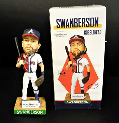 Atlanta Braves Bobblehead SWANBERSON Half of Each Player Dansby Swanson Charlie Culberson 2019 SGA