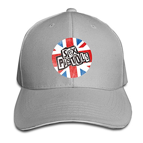 [Cinocu Sex Pistols Logo Snapback Hats] (John Paul Jones Costumes)