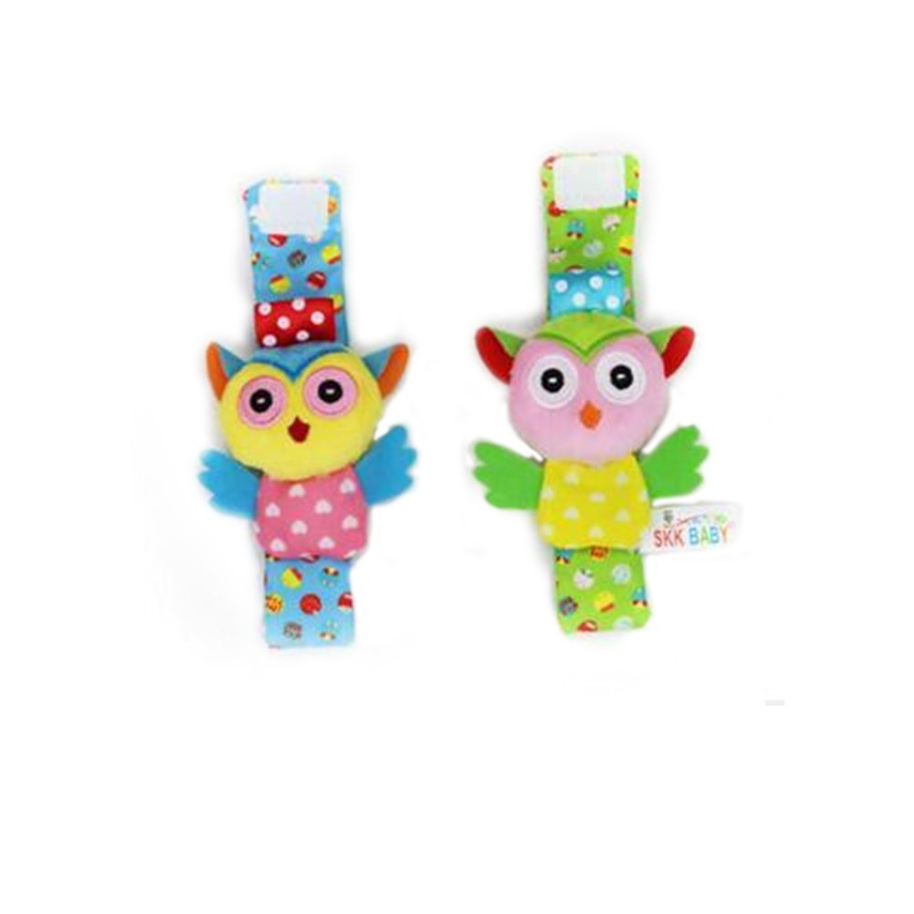 Unisex Animal Soft Foots Finders Developmental Toys Gifts for Newborn Baby Boy Girl owl Socks Health Baby Care Hemore Infant Baby Animal Rattles Toys Foot Socks