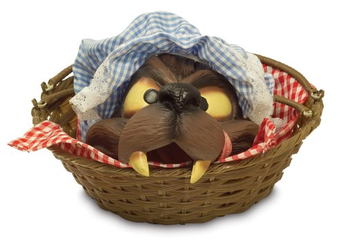 [Big Bad Wolf Head in Basket Outfit Prop] (Big Bad Wolf Outfit)