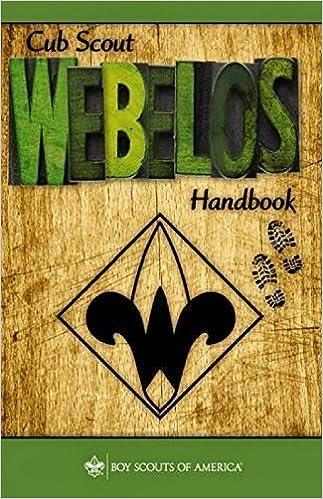 CUB SCOUT WEBELOS HANDBOOK PDF DOWNLOAD