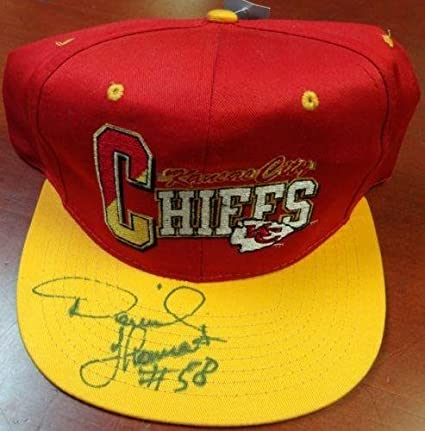 Image Unavailable. Image not available for. Color  Derrick Thomas  Autographed Signed Kansas City Chiefs Hat ... 378b3ab02