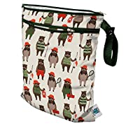 Planet Wise Wet/Dry Bag, Brawny Bears, Made in the USA