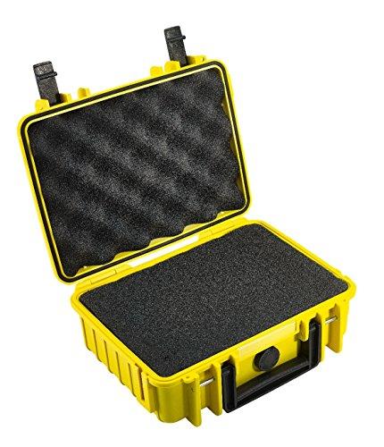 B&W Outdoor Cases Typ 1000 SI (Schaumstoffeinsatz) gelb