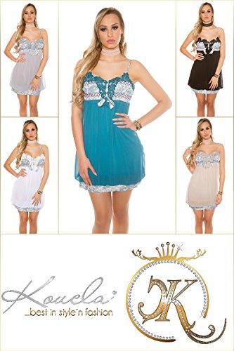 Enzoria - Vestido - para mujer Cappuccino