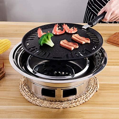 Guoguocy Grills électriques Barbecue, antiadhésif de Cuisson Plateau, Ménage Charcoal Smokeless Grill, intérieur et extérieur Korean Barbecue Grill