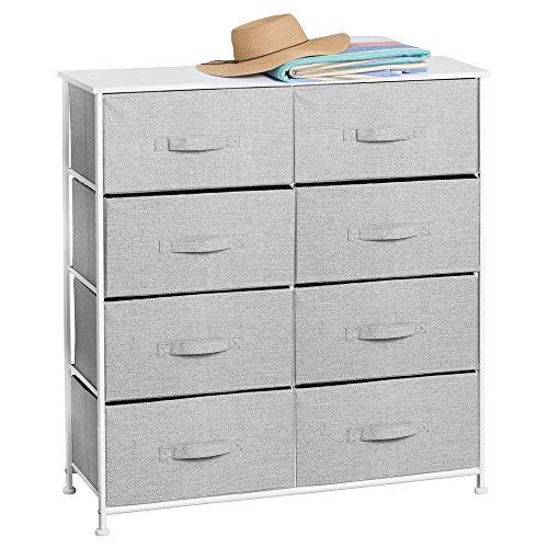 mDesign Vertical Dresser Storage