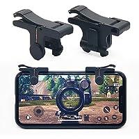 GUOYIHUA Phone Gamepad Trigger Fire Button Aim Key Joystick Smart phone Tablet Gaming Trigger L1R1 Shooter Controller PUBG