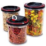 food storage container vacuum - Airtight Food Storage Container Set with vacuum pump