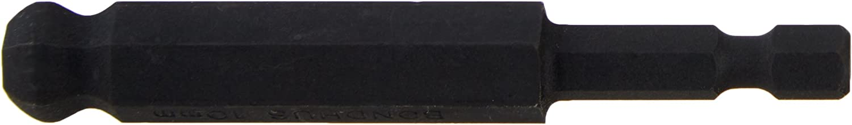 10-Piece Bondhus 10852 2mm Ball End Tip Power Bit with ProGuard Finish 76mm