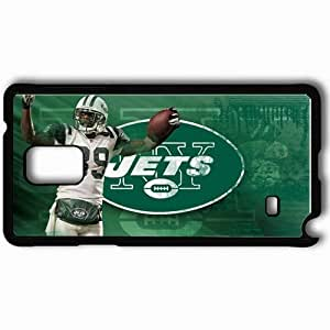Personalized Samsung Note 4 Cell phone Case/Cover Skin 1368 new york jets Black