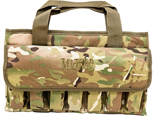 MidwayUSA Tactical Pistol Case Multicam