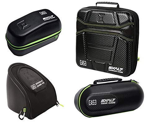 - Exalt Paintball Carbon 4 Case Package