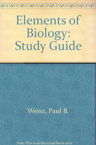 Elements of Biology