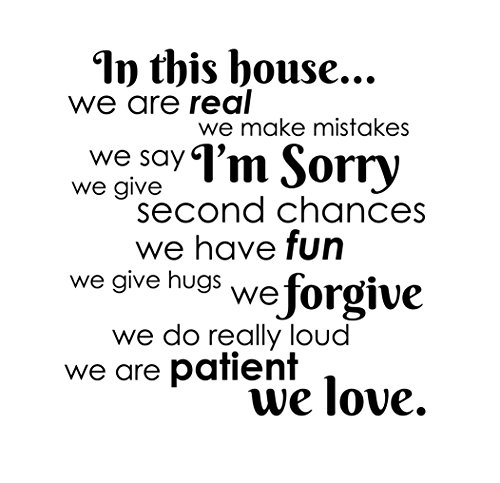 Newclew house mistakes Decals Stickers product image
