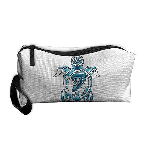 Hawaii Bag (Watercolor Hawaii Turtle Portable Receiving Bag Make-up Cosmetic Bag Sewing Kit Stationery Bags Multi-function Bag)