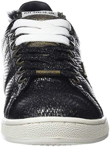 Cock Black Women's 999 Sneakers Low Black Pepe Jeans Top Brompton p0vttg