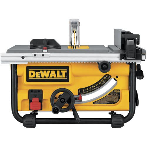 Dewalt Dw745 10 Inch Compact Job Site Table Saw With 20