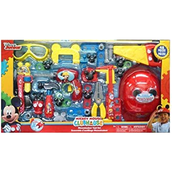 .com: mickey mouse club house kadoer tool set: toys & games