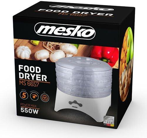 Blanco Mesko Deshidratador De Alimentos