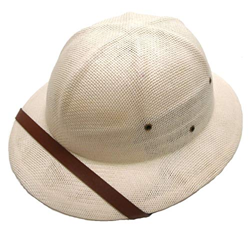Sun Safari Pith Helmet / White / High -