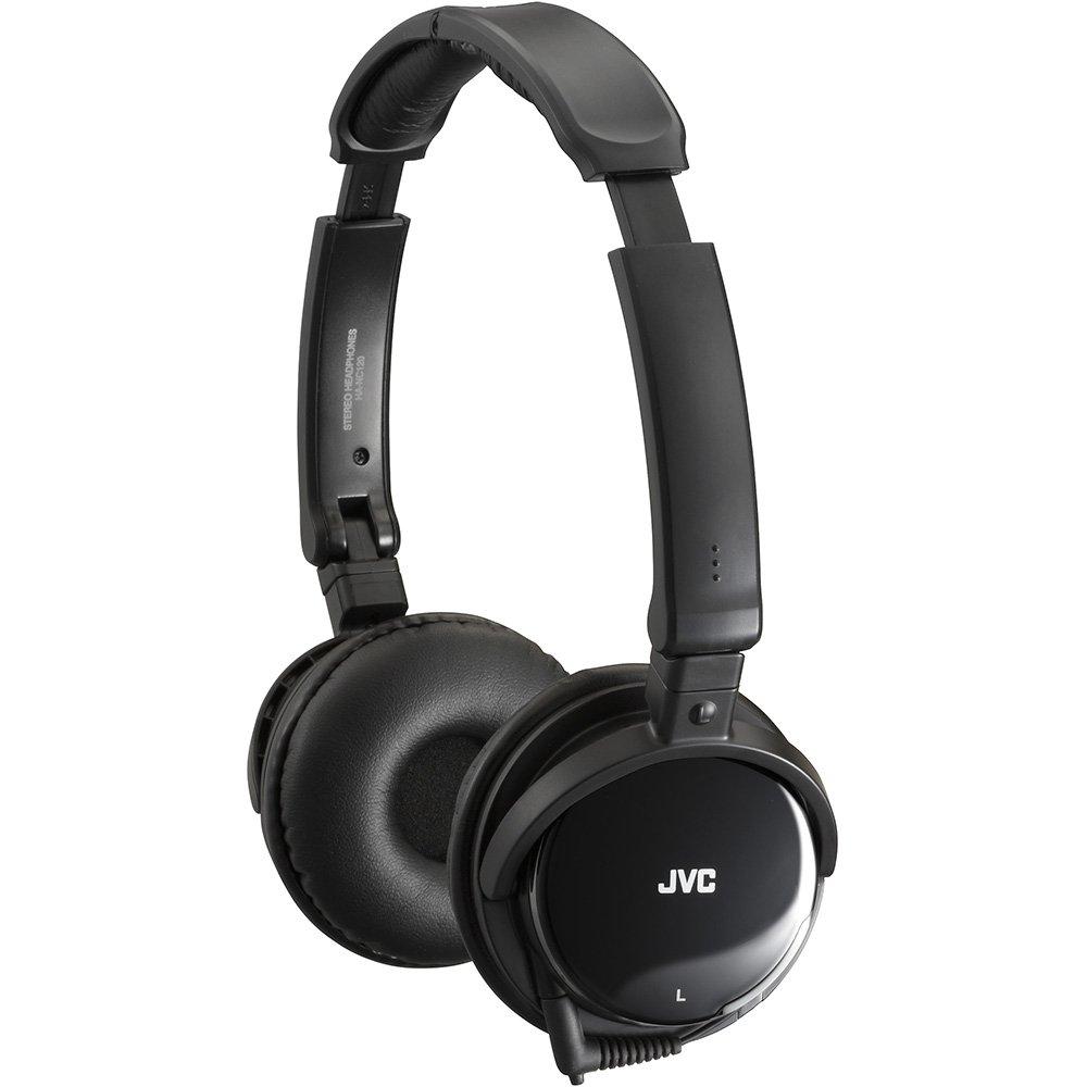 JVC HA-NC120 Noise-canceling Headphones, Standard Packaging