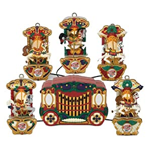 Amazon.com: Mr. Christmas Holiday Carousel A string of five ...