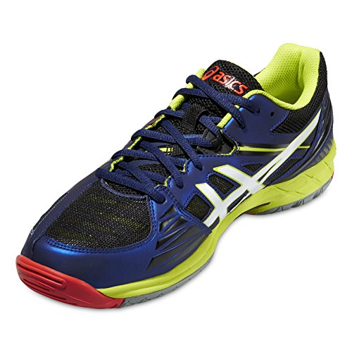 Asics Herren Gel-volley Elite 3 Volleyballschuhe Navy-bianco-lime