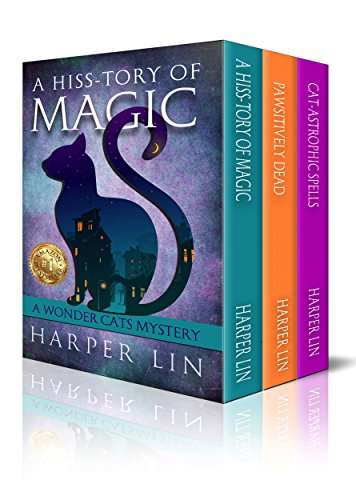The Wonder Cats Mysteries 3-Book Box Set: Books 1-3]()