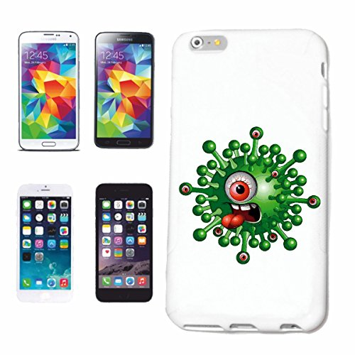 "cas de téléphone iPhone 7+ Plus ""MONSTER EYE ENFANT SHIRT TONGUE Fun LIFESTYLE FASHION STREETWEAR HIPHOP SALSA LEGENDARY"" Hard Case Cover Téléphone Covers Smart Cover pour Apple iPhone en blanc"