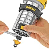 DEWALT Router, Fixed Base, Variable Speed, 1-1/4-HP Max Torque