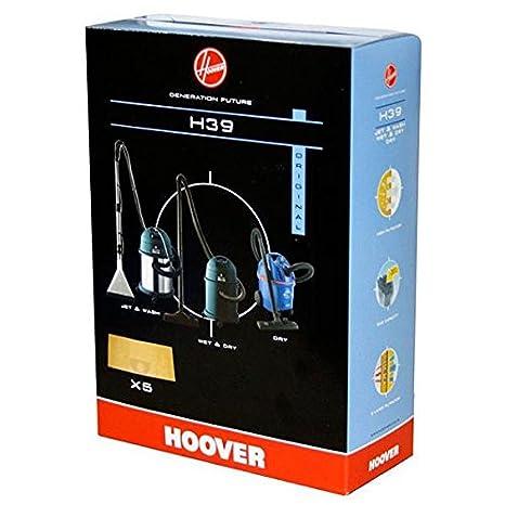 Bolsas para aspirador hoover h39 jet dry s6140 (x5 ...