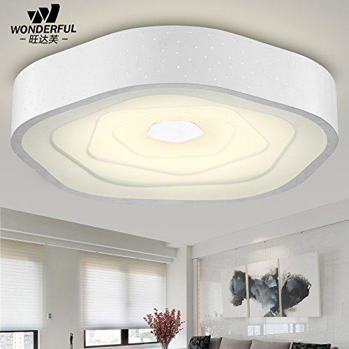Sala balcones creativa en forma especial lámparas de hierro ...