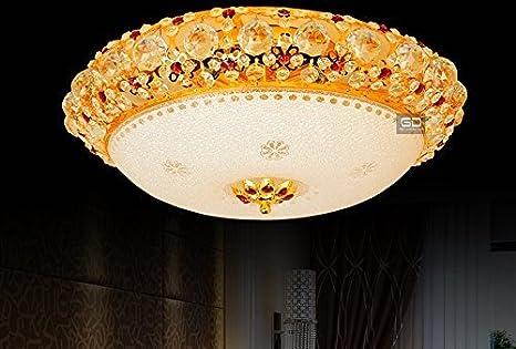 Fort grid europea lámpara lámpara de cristal techo salón ...
