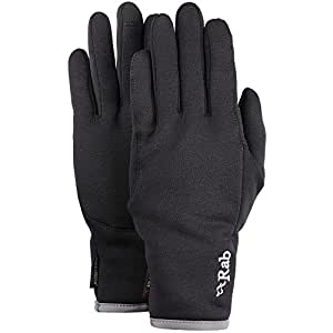 Rab Power Stretch Pro Contact Glove - Men's-Black-X-Large